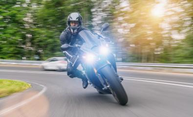 motorbike on the road riding and having fun on a motorcycle tour- Stock Photo or Stock Video of rcfotostock | RC-Photo-Stock