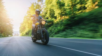 motorbike on the road riding and having fun on a motorcycle tour. copyspace for your individual text.- Stock Photo or Stock Video of rcfotostock | RC-Photo-Stock