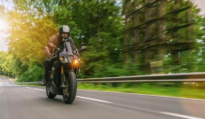 motorbike riding on the country road. driving on the empty road on a motorcycle trip. copyspace for your individual text. : Stock Photo or Stock Video Download rcfotostock photos, images and assets rcfotostock | RC-Photo-Stock.: