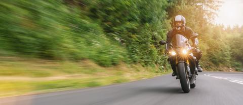 motorbike riding on the forest road. driving on the empty road on a motorcycle tour. copyspace for your individual text. : Stock Photo or Stock Video Download rcfotostock photos, images and assets rcfotostock | RC-Photo-Stock.: