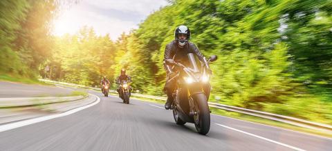 Motorradfahren in der Gruppe- Stock Photo or Stock Video of rcfotostock | RC-Photo-Stock