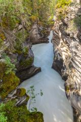 Mountains, rivers and waterfalls make up magnificent landscapes. Jasper Park. Rocky Mountains of Canada. Athabasca Falls. Travel, ecological and photo tourism concept : Stock Photo or Stock Video Download rcfotostock photos, images and assets rcfotostock | RC-Photo-Stock.: