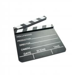 Movie clapperboard isolated on white background. Video icon. Film making industry concept - Stock Photo or Stock Video of rcfotostock | RC-Photo-Stock