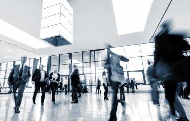 moving crowd at a Exhibition- Stock Photo or Stock Video of rcfotostock | RC-Photo-Stock