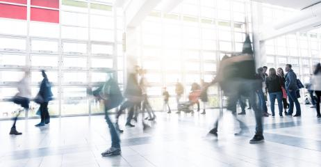 moving crowd in corridor at a shopping mall- Stock Photo or Stock Video of rcfotostock | RC-Photo-Stock