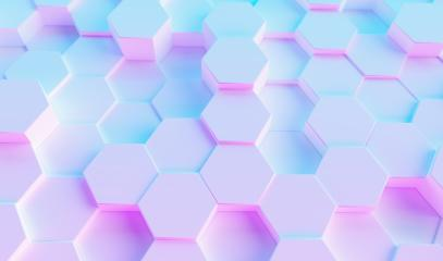 multi color neon light technology hexagon pattern background texture- Stock Photo or Stock Video of rcfotostock | RC-Photo-Stock