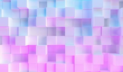 multi color technology cube pattern background - Stock Photo or Stock Video of rcfotostock | RC-Photo-Stock