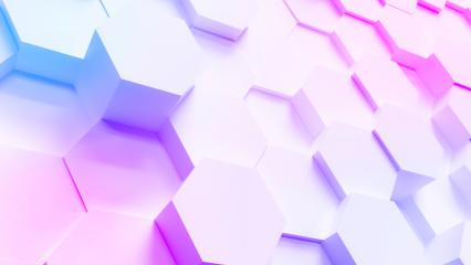 multi color technology hexagon pattern background - Stock Photo or Stock Video of rcfotostock   RC-Photo-Stock