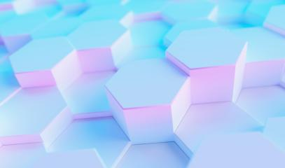 multi color technology hexagon pattern background - Stock Photo or Stock Video of rcfotostock | RC-Photo-Stock