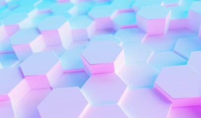 neon uv blue and purple futuristic  hexagon light surface pattern- Stock Photo or Stock Video of rcfotostock | RC-Photo-Stock