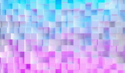 neon uv blue and purple futuristic cube light surface pattern- Stock Photo or Stock Video of rcfotostock | RC-Photo-Stock