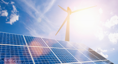 New energy, solar and wind power will solve future energy shortages- Stock Photo or Stock Video of rcfotostock | RC-Photo-Stock