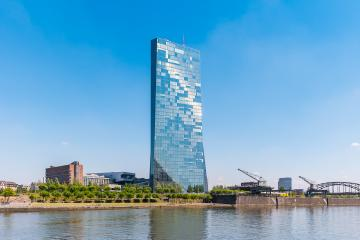 New headquarters of the European Central Bank or ECB in Frankfurt- Stock Photo or Stock Video of rcfotostock | RC-Photo-Stock