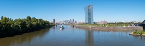 new headquarters of the European Central Bank or ECB in Frankfurt am Main Panorama- Stock Photo or Stock Video of rcfotostock | RC-Photo-Stock