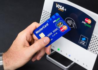 NFC - Near field communication / contactless payment- Stock Photo or Stock Video of rcfotostock | RC-Photo-Stock