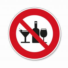 No alcohol. No alcohol drinks in this area, prohibition sign on white background. Vector illustration. Eps 10 vector file.- Stock Photo or Stock Video of rcfotostock | RC-Photo-Stock