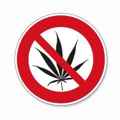 No cannabis. No marijuana Cannabis leaf, Marijuana (weed, hemp) is forbidden, prohibition sign, on white background. Vector illustration. Eps 10 vector file.- Stock Photo or Stock Video of rcfotostock | RC-Photo-Stock