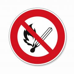 No open flame sign.  No fire, No access with open flame or no smoking, prohibition sign, on white background. Vector illustration. Eps 10 vector file.- Stock Photo or Stock Video of rcfotostock | RC-Photo-Stock