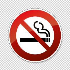No smoking. Do not smoke in this area, prohibition sign, on checked transparent background. Vector illustration. Eps 10 vector file.- Stock Photo or Stock Video of rcfotostock | RC-Photo-Stock