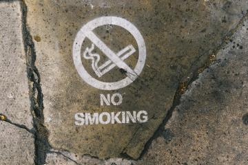 No smoking sign on the street : Stock Photo or Stock Video Download rcfotostock photos, images and assets rcfotostock | RC-Photo-Stock.: