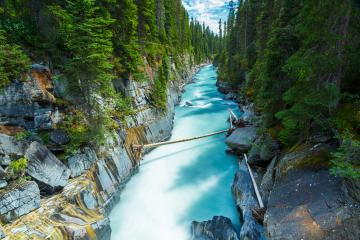 Numa Falls at the Kootenay national park Canada  : Stock Photo or Stock Video Download rcfotostock photos, images and assets rcfotostock | RC-Photo-Stock.: