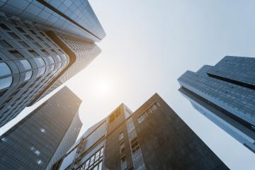 office buildings Skyscrapers- Stock Photo or Stock Video of rcfotostock | RC-Photo-Stock