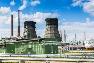 oil refinery with cooling Tower- Stock Photo or Stock Video of rcfotostock | RC-Photo-Stock