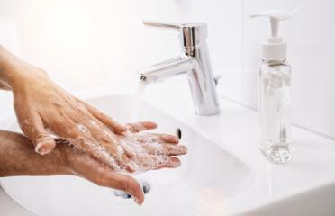 Old  Woman washing his Hands to prevent virus infection and clean dirty hands - corona covid-19 concept image : Stock Photo or Stock Video Download rcfotostock photos, images and assets rcfotostock | RC-Photo-Stock.: