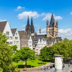 old town of cologne with Cologne cathedral- Stock Photo or Stock Video of rcfotostock | RC-Photo-Stock