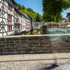 Old Town of Monschau at summer- Stock Photo or Stock Video of rcfotostock | RC-Photo-Stock