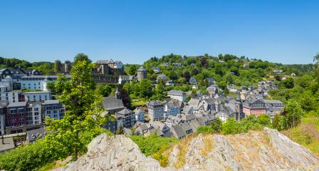 Old Town of Monschau panorama : Stock Photo or Stock Video Download rcfotostock photos, images and assets rcfotostock | RC-Photo-Stock.: