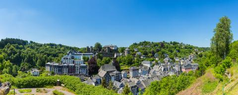 Old Town of Monschau panorama- Stock Photo or Stock Video of rcfotostock | RC-Photo-Stock