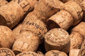 old used champagne corks- Stock Photo or Stock Video of rcfotostock   RC-Photo-Stock