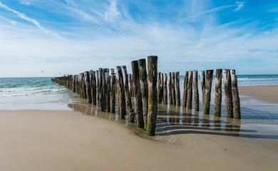 old Wave breaker on the beach- Stock Photo or Stock Video of rcfotostock | RC-Photo-Stock