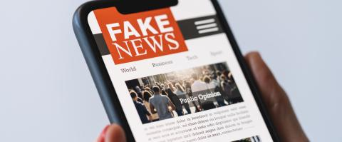 Online fake news on a mobile phone. Close up of woman reading Fake news HOAX or articles in a smartphone screen application. Hand holding smart device. Mockup website. Fake Newspaper portal.- Stock Photo or Stock Video of rcfotostock | RC-Photo-Stock