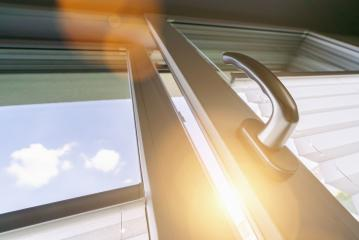 Opened white plastic window with sunlight- Stock Photo or Stock Video of rcfotostock | RC-Photo-Stock