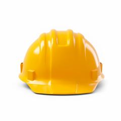orange safety helmet isolated on white background. 3D rendering- Stock Photo or Stock Video of rcfotostock | RC-Photo-Stock