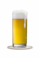 overflowing beer glass on a beermat- Stock Photo or Stock Video of rcfotostock | RC-Photo-Stock