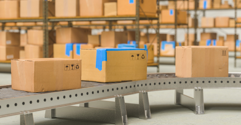 Packages delivery, packaging service and parcels transportation - Stock Photo or Stock Video of rcfotostock | RC-Photo-Stock
