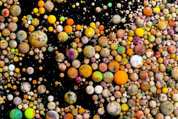 paint balls Abstract background- Stock Photo or Stock Video of rcfotostock   RC-Photo-Stock