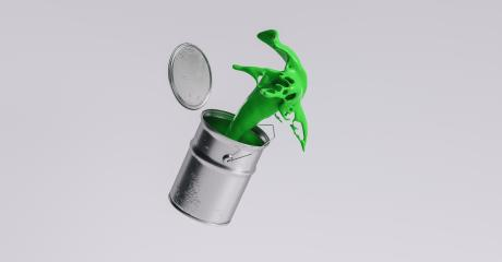 paint can splashing green bright color, renovation concept image- Stock Photo or Stock Video of rcfotostock | RC-Photo-Stock