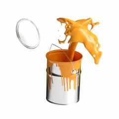 paint can splashing orange bright color isolated on white background : Stock Photo or Stock Video Download rcfotostock photos, images and assets rcfotostock | RC-Photo-Stock.: