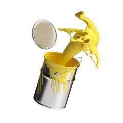 paint can splashing yellow bright color isolated on white background : Stock Photo or Stock Video Download rcfotostock photos, images and assets rcfotostock | RC-Photo-Stock.: