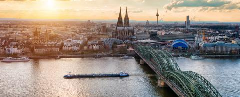 panorama of Cologne : Stock Photo or Stock Video Download rcfotostock photos, images and assets rcfotostock | RC-Photo-Stock.:
