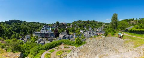 panoramic view from the Kierberg of Monschau- Stock Photo or Stock Video of rcfotostock | RC-Photo-Stock