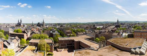 panoramic view of aachen city at summer- Stock Photo or Stock Video of rcfotostock | RC-Photo-Stock