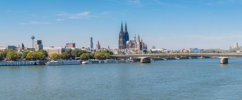panoramic view of cologne city- Stock Photo or Stock Video of rcfotostock | RC-Photo-Stock