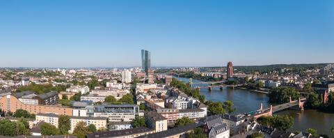 panoramic view of Frankfurt am Main- Stock Photo or Stock Video of rcfotostock | RC-Photo-Stock