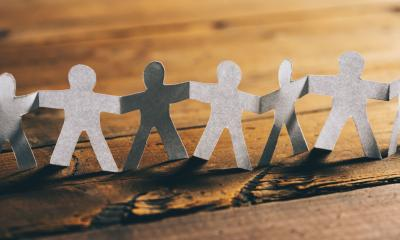 Paper People Holding Hands : Stock Photo or Stock Video Download rcfotostock photos, images and assets rcfotostock | RC-Photo-Stock.: