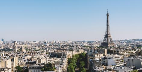 Paris - France. View from Arch of Triumph- Stock Photo or Stock Video of rcfotostock | RC-Photo-Stock